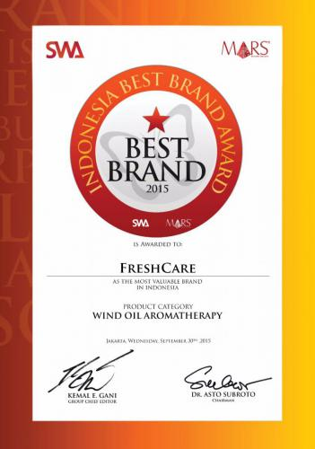 Indonesia Best Brand Award 2015
