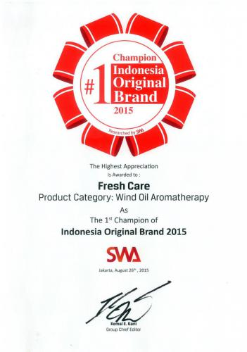 Indonesia Original Brand 2015