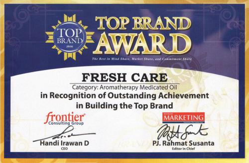 Top Brand Award 2016