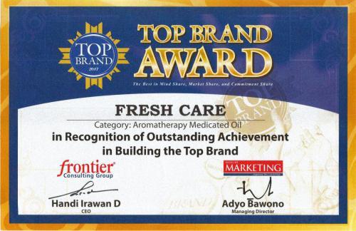 Top Brand Award 2017